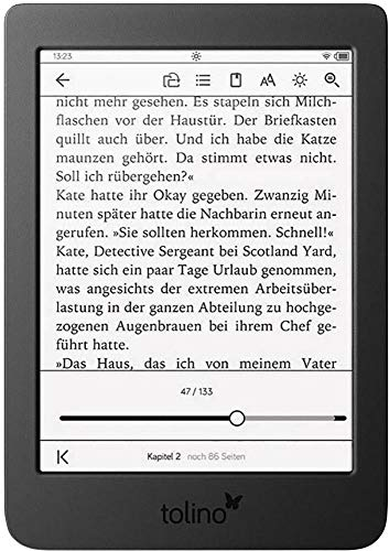 Tolino Page 2 eBook-Reader 15.2cm (6 Zoll) Nero