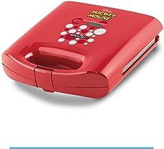 Sanduicheira Elétrica Disney Mickey Vermelha e Antiaderente - Mallory - 110V