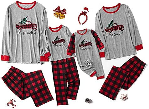 Pijama de Navidad largo de pijama de Navidad, ropa de dormir ...