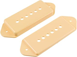 Yellow Pickup Covers For American Strat® Guitar 3 PC-0406-020