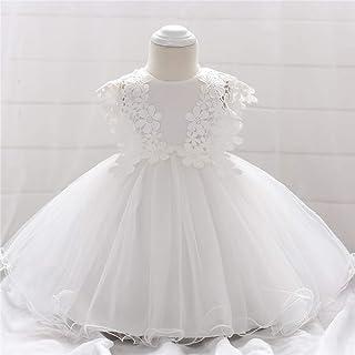 BCSHF Vestido de Princesa de Las niñas Pasarela Vestido Faldas Vestido de la Princesa del bebé de los Vestidos del cordón ...