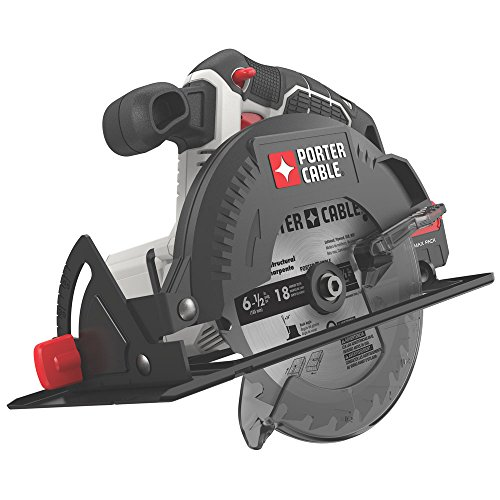PORTER-CABLE 20V MAX 6-1/2-Inch Cordless Circular Saw, Tool Only...