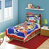 Paw Patrol All Paws on Deck 4-Piece Toddler Bedding Set - Includes Quilted Comforter, Fitted Sheet, Top Sheet, and Pillow Case