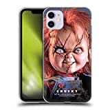 Head Case Designs Officially Licensed Bride of Chucky Doll Key Art Soft Gel Case Compatible with Apple iPhone 11