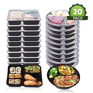Chef de Star contenedores de almacenamiento de alimentos con tapas ...