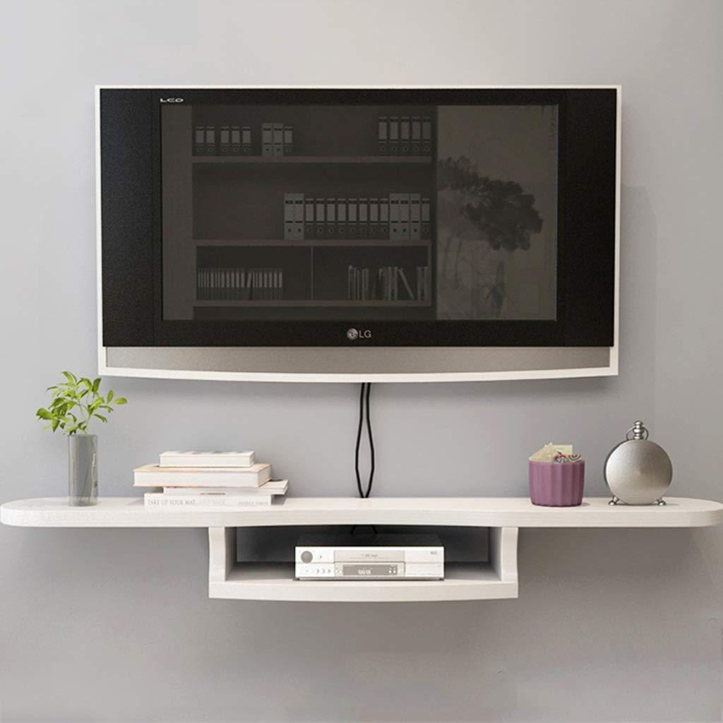 TLMY Consola Flotante montada en la Pared Dispositivo/Dispositivo de transmisión de parlantes de la Caja de TV del enrutador de WiFi. Mueble para TV de Pared (Color : B): Amazon.es: Hogar