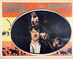 Photographic poster from The Circus from one of the movie's funniest scenes, as the monkeys attack the Little Tramp.