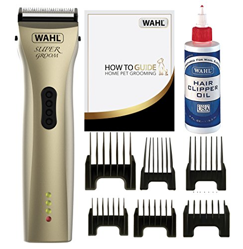 Wahl Dog Clippers, Supergroom Premium Dog Grooming Kit, Full Coat Dog...