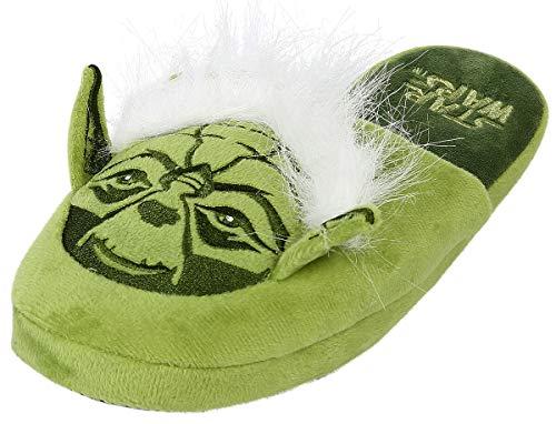Star Wars Yoda Hausschuh grün one size