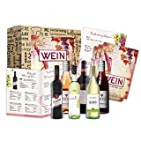 Geschenk Wein Weltreise 6x0,25l als Probierset für Weintrinker Erstklassige Rotweine und Weißweine zum probieren zum Geburtstag Weinbox
