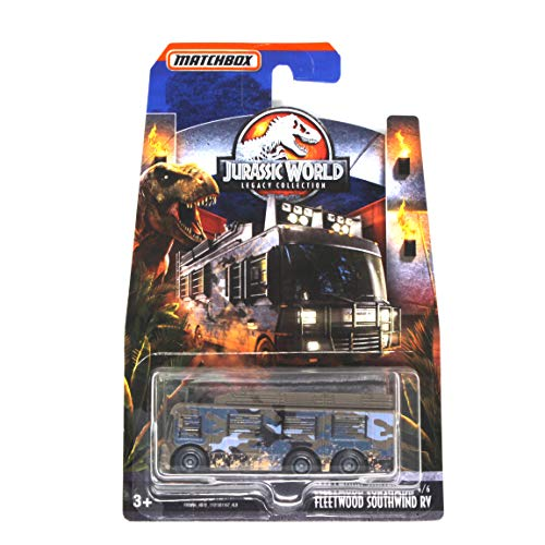 Matchbox DieCast Jurassic World Legacy Collection Fleetwood Southwind RV From Jurassic Park the Lost World