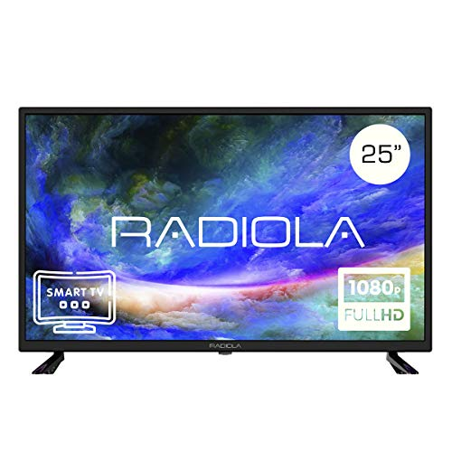 Televisor Led 25 Pulgadas Full HD Smart TV. Radiola