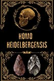 Homo Heidelbergensis: College Ruled Blank lined composition book Half lined half blank Notebook for Co-workers (Funny Office Notebooks). diary to keep ... grocery list notepad, high note planner