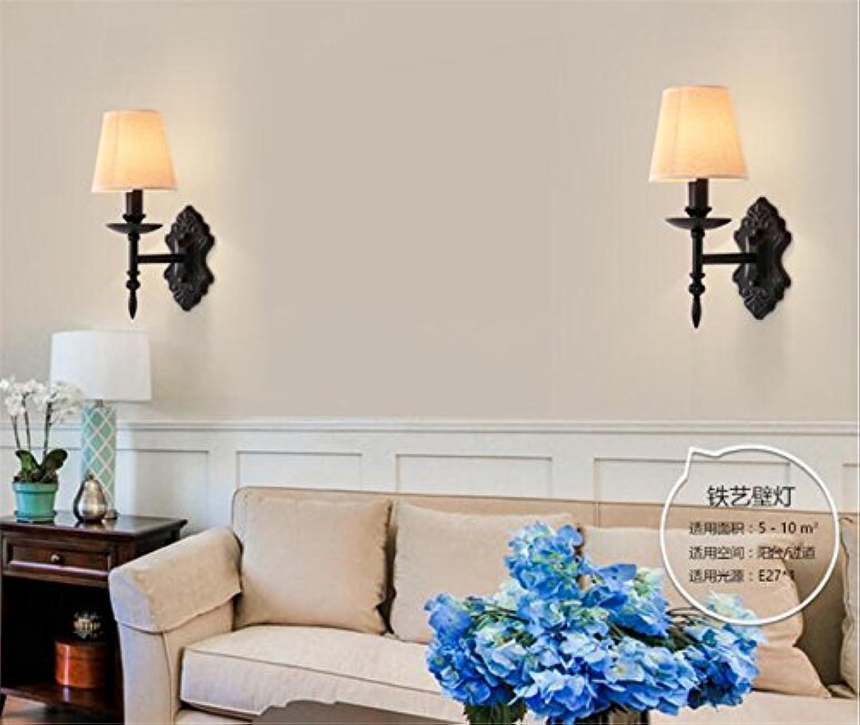 StiefelU LED Wandleuchte nach oben und unten Wandleuchten Bügeleisen antik Wandlampen Wand treppen Flure Schlafzimmer Nachttischlampe, Farbe-Kopf