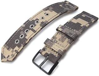 Cinturino per orologio in tessuto con cinturino 20mm, 21mm o 22mm MiLTAT WW2 Cinturino per orologio in 2 pezzi Cordura 100...