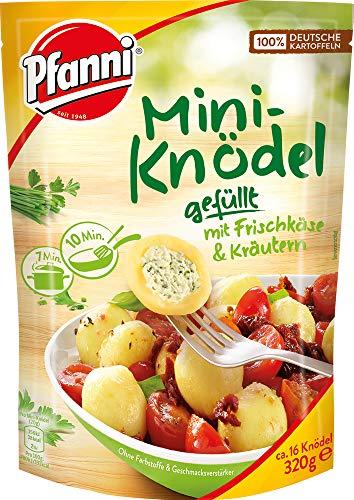 Pfanni Mini Kartoffel Knödel mit Frischkäse und Kräutern, 7er Pack