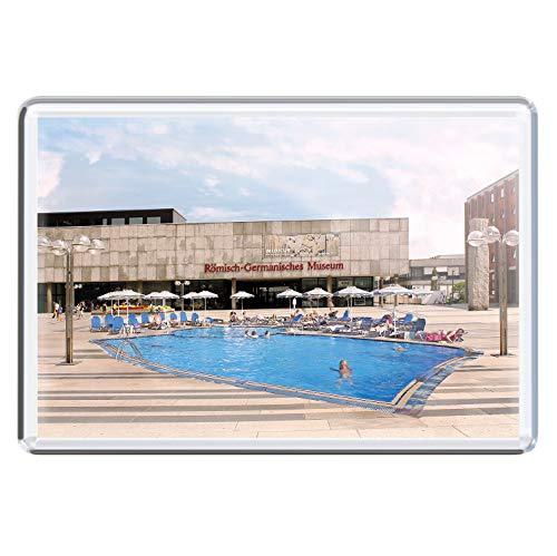 stadtecken magneten 10x7cm +++ KÖLN motieven: Romeinse zwembad I koelkastmagneten I Leven & Momenten grappig I Whiteboard I Souvenir I Gift I Gift I Gift I Gift I
