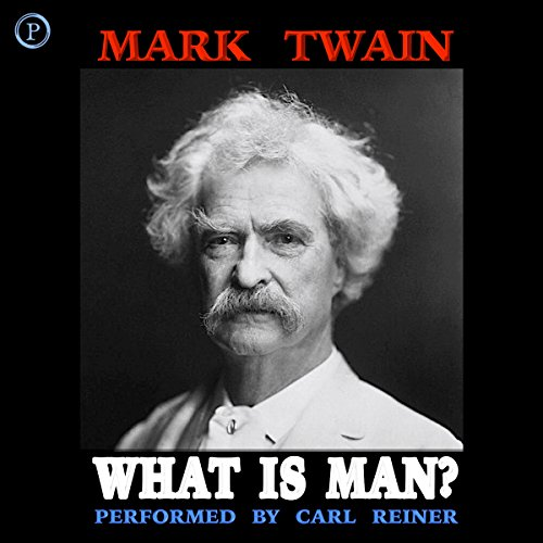 What Is Man? audiobook cover art