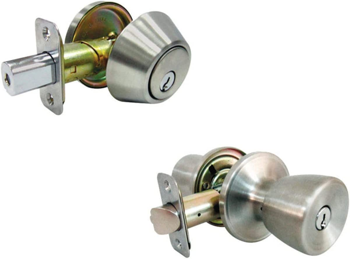 Faultless Tulip Satin Stainless Steel Entry Singl Outlet SALE and Reservation Metal Knob