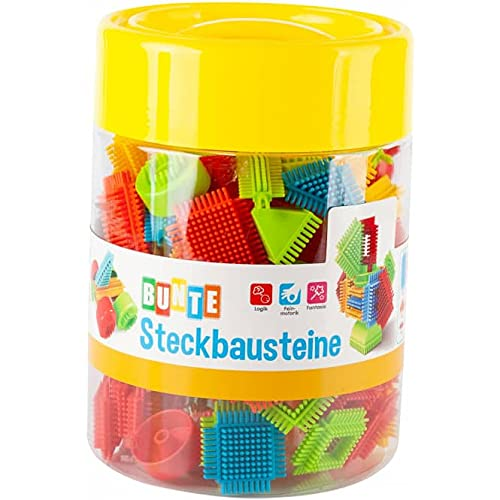 Besttoy - Bunte Steckbausteine - 100-teilig