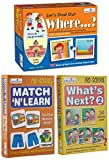 Product 1: Visual Discrimination Product 1: Early Learning Concepts Product 1: Improve ability to Ask and Answer Questions Product 2: Observation Product 2: Concentration Product 2: New Vocabulary Product 3: Observation Product 3: Concentration Produ...
