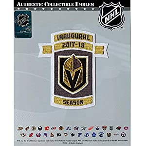 2017 Vegas Hockey Team Inaugural Patch NHL Season Embroidered Iron On from National Emblem
