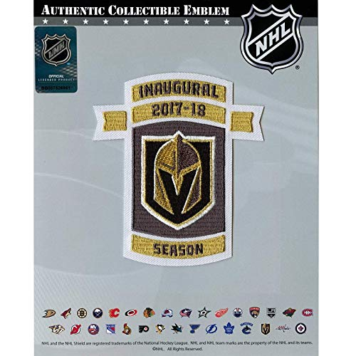 2017 Vegas Golden Knights Inaugural NHL Season Embroidered Jersey Patch