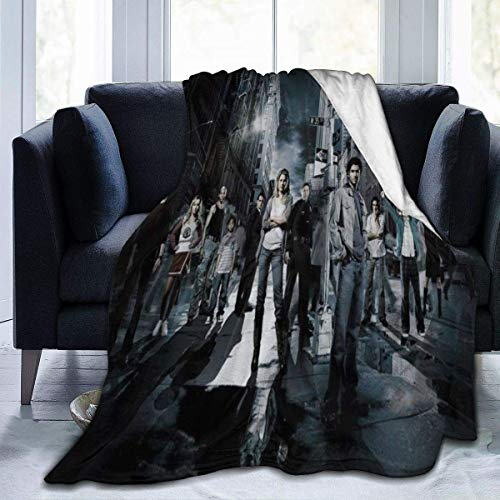 Lsjuee Heroes Blanket Franela Microfibra Mantas de Tiro Súper Suave Fuzzy Luxury Adecuado para Cama Sofá Viaje Four Seasons Manta 80 x60