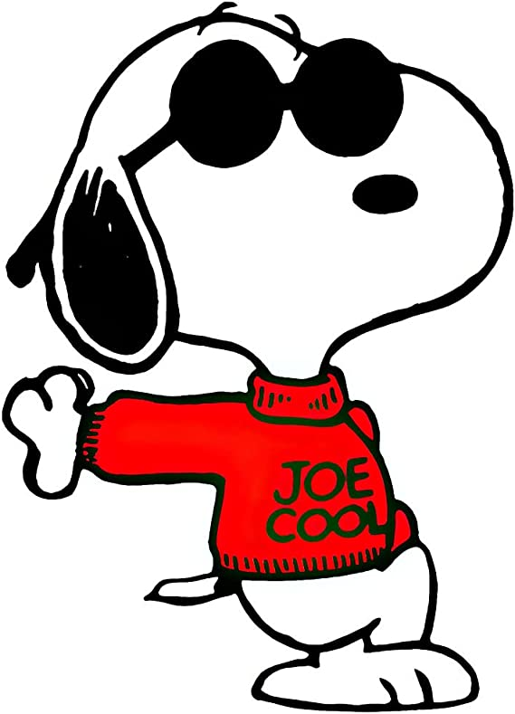 Autoaufkleber Snoopy Woodstock Comics Netter Aufkleber für Tablets Laptops Skateboard 2 Stk