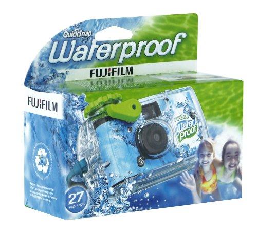 Fujifilm Quicksnap Marine Einwegkamera für Unterwasseraufnahmen (27 Aufnahmen, wasserdicht bis 10 m)