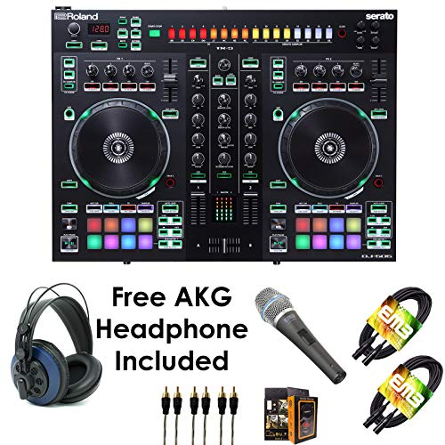 Why Should You Buy Roland PKG DJ-505 Two Channel, Four-Deck Serato DJ Controller – Package Bundle ...