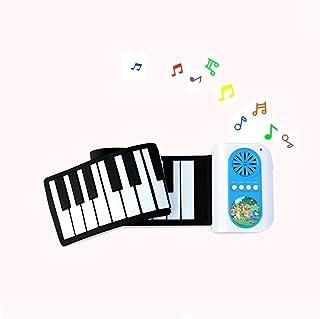 لوحة مفاتيح البيانو المحمولة WVWTWB بـ 37 مفتاح، للمبتدئين في ممارسة الأدوات الموسيقية، مبتدئ التعليم الآلة الموسيقية الإل...