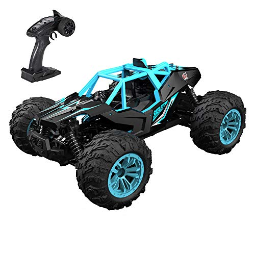 GoolRC RC Car 1:14 Scale 2.4Ghz Remote Control Car, 4WD 36KM/H High Speed Off Road Monster Trucks, Alloy Shell Electronic Vehicle All Terrain Racing Climbing Car for Kids and Adults