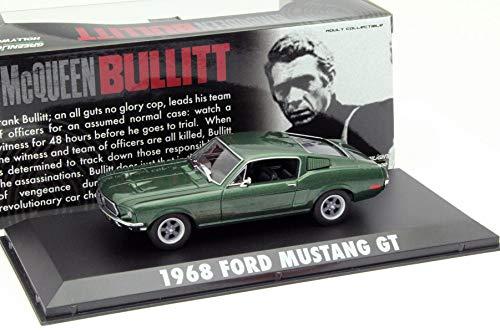 Greenlight Ford Mustang GT Steve McQueen aus dem Film Bullitt 1968 grün metallic 1:43