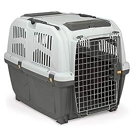 Skudo 5 Airline Approved Dog Carrier, Large, Grey