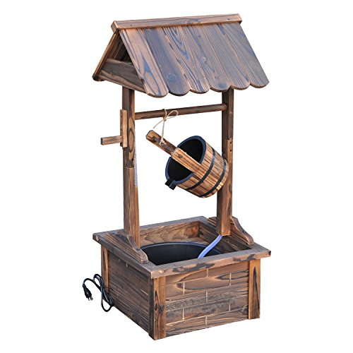 Cool Rustic Wishing Well Fountain for sale