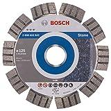 Bosch Professional Diamanttrennscheibe (für extrem hartes Gestein, Ø: 125 mm, Zubehör für Winkelschleifer)