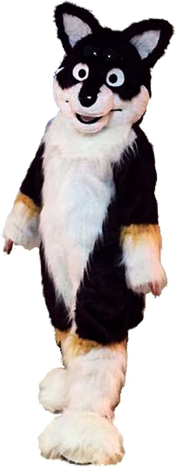 Langteng Fox Dog Wolf Husky Cartoon Mascot Costume Real Picture 1520days deliveried