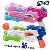 HITOP Water Gun, 2 Pack Squirt Guns Water Guns for Kids...