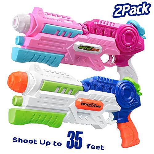 HITOP Water Gun, 2 Pack Squirt...