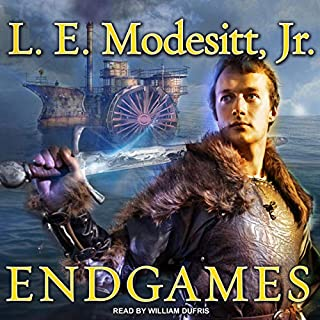 Endgames     Imager Portfolio Series, Book 12              Written by:                                                                                                                                 L. E. Modesitt Jr.                               Narrated by:                                                                                                                                 William Dufris                      Length: 20 hrs and 27 mins     3 ratings     Overall 5.0
