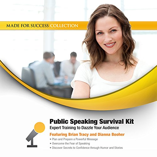 Public Speaking Survival Kit audiobook cover art