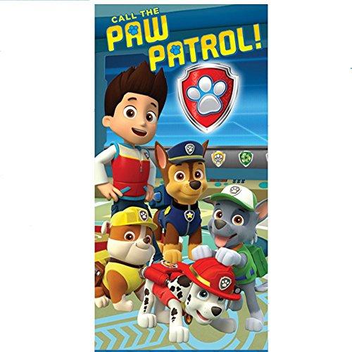 Toalla Patrulla Canina Paw Patrol Team microfibra