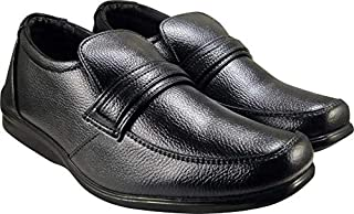 ACTION Synergy Men's Comfort Formal Shoes Black QUICK13