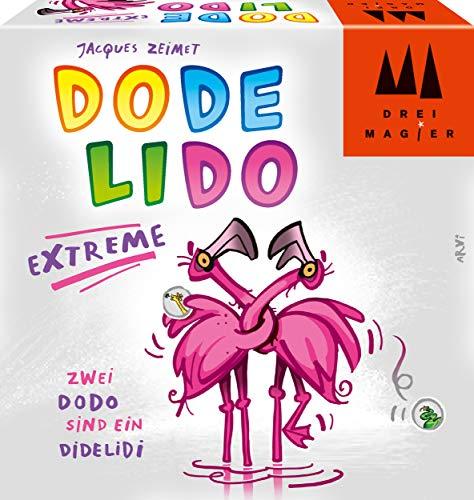 Schmidt Spiele 40889 Dodelido Extreme, DREI Magier Kartenspiel, bunt