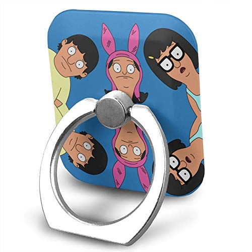 Bob's Burgers for Phone Ring Holder Cute Finger Grip Stand Holder 360 Degrees Rotation Compatible for iPhone and for Samsung for Phone Case