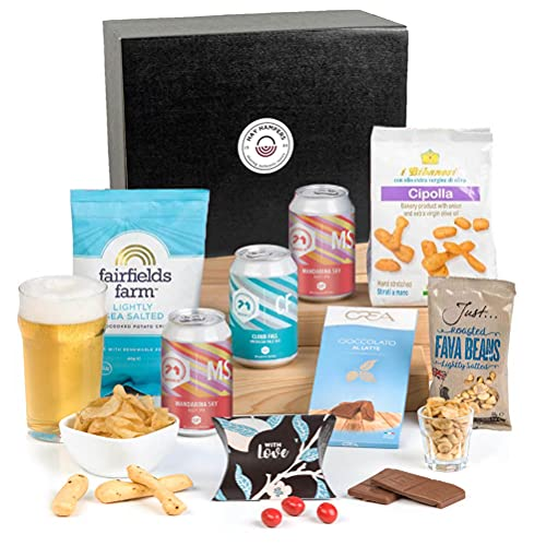 Hay Hampers - Pale Ale and Nibbles Hamper Box Gift for Him - Father's Day Gift Idea