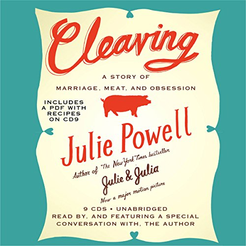 Cleaving audiobook cover art
