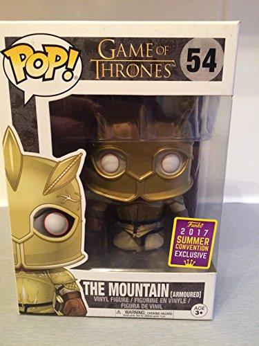 Funko POP! Juego de Tronos: The Mountain con armadura Exclusivo