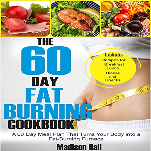 The 60 Day Fat Burning Cookbook cover art
